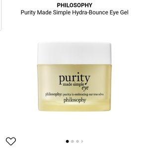Philosophy purity made simple eye
